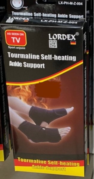 Used Self Heating Ankle Support LORDEX in Dubai, UAE
