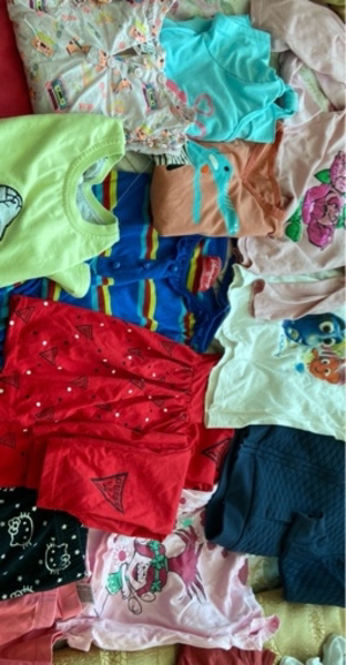 Used Clothes girl and women shirts in Dubai, UAE