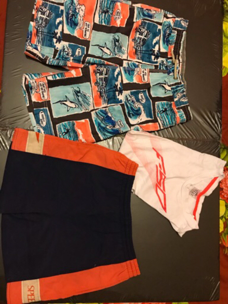 Used Gap shorts. + speedo shorts + Adidas in Dubai, UAE