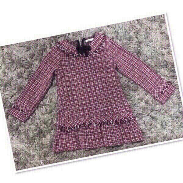 Used Shein Tweed Dress  2 to 3 yr old 💙 in Dubai, UAE