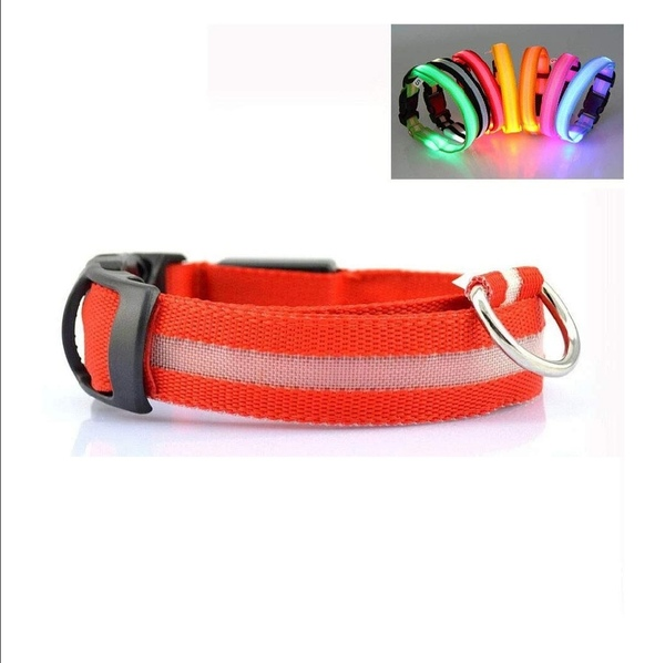 Used Safety Dog Pet Comfort Collar LED in Dubai, UAE