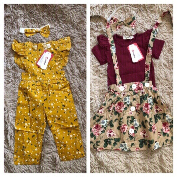 Used Patpat clothes 6 sets size 3-6-9 months in Dubai, UAE