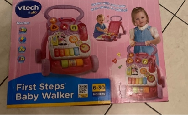 Used Vtech First baby step walker in Dubai, UAE