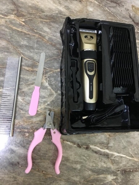 Used pet hair trimmer set brand new in Dubai, UAE