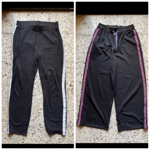 Used 2ps oversized branded pants in Dubai, UAE