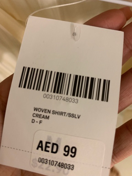 Used New forever 21 top size M in Dubai, UAE