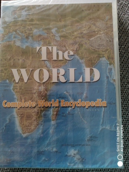 Used World Map CD new only 35 dhs in Dubai, UAE