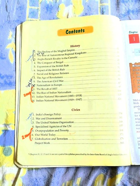 Used History and Civics Textbook in Dubai, UAE