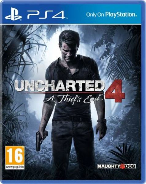 Used PS4 Uncharted 4: A Thief's End in Dubai, UAE