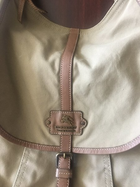 Used BURBERRY Vintage Canvas Bag in Dubai, UAE