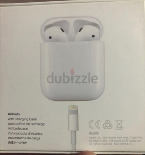 Used Airpods 2019 2nd generation in Dubai, UAE