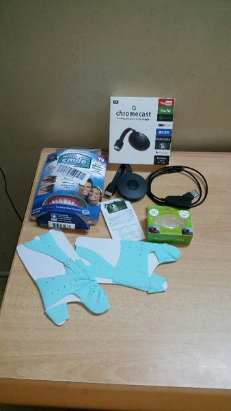 Used Bundle4pc(Chromecast,Smile,Purifier,Toe) in Dubai, UAE