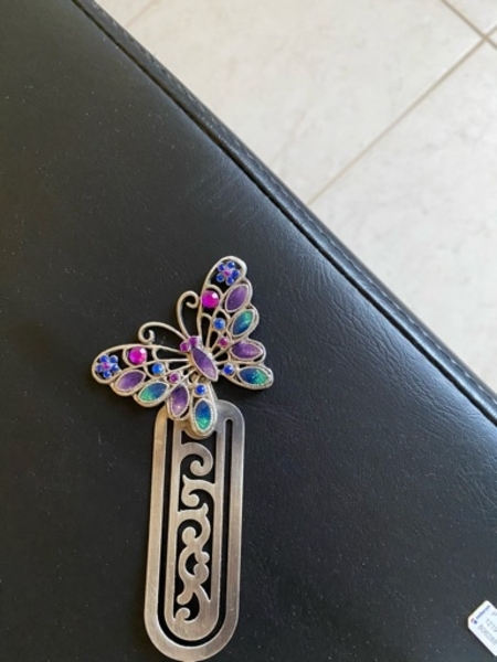 Used Book mark with butterfly in Dubai, UAE