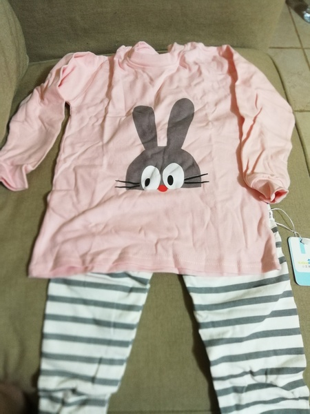 Used New kids pijamas size 80, 100% cotton in Dubai, UAE