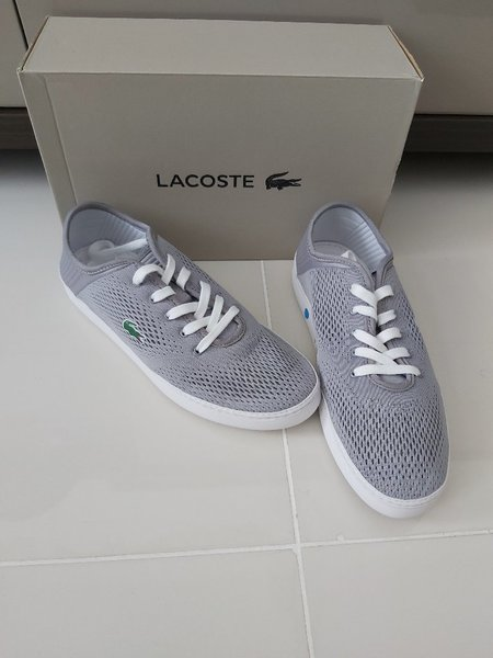 Used Original lacost men sneakers in Dubai, UAE