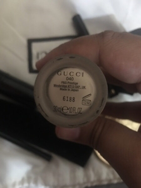 Used Gucci makeup brushes and mirror in Dubai, UAE