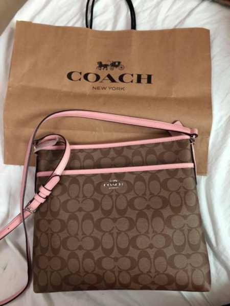 Used Authentic Coach sling Bag from USA. in Dubai, UAE