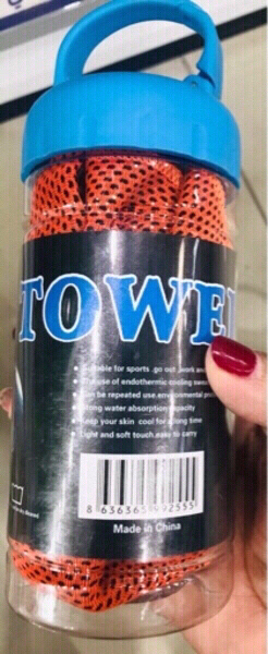 Used 2 PCs Ice/ Cooling Towel ♥️ in Dubai, UAE