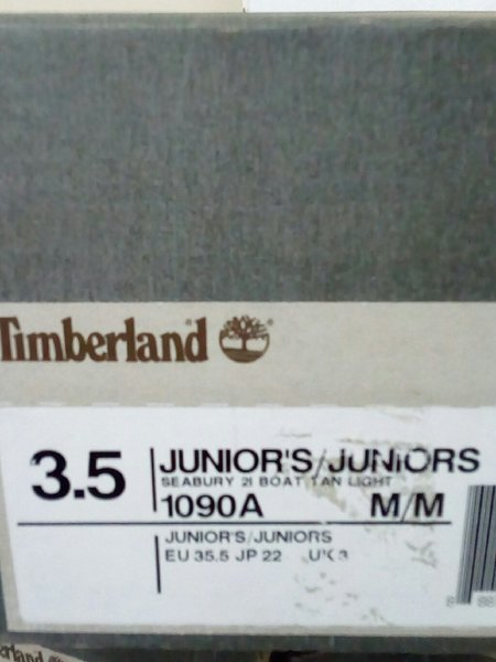 Used Timberland shoes brown size 35.5 in Dubai, UAE