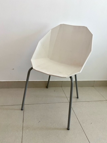 Used Designer modern interior white chair in Dubai, UAE