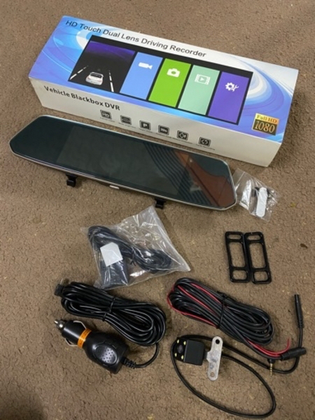 Used Car touch screen video recorder in Dubai, UAE