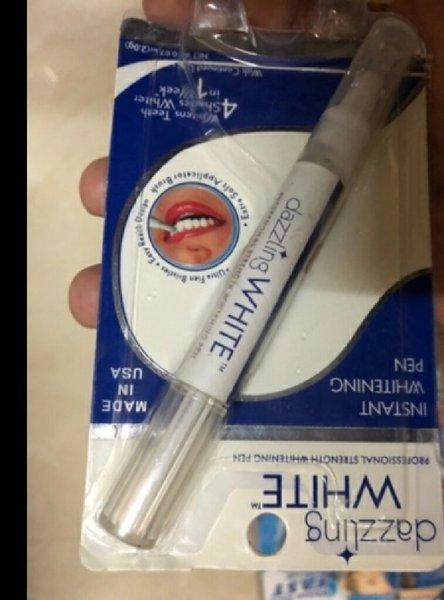 Used Dazzling white whitening pen in Dubai, UAE