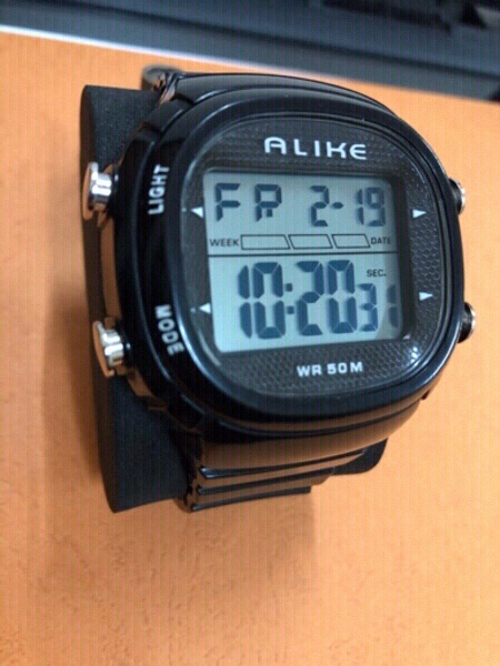 Used ALIKE 50m waterproof sport watch in Dubai, UAE