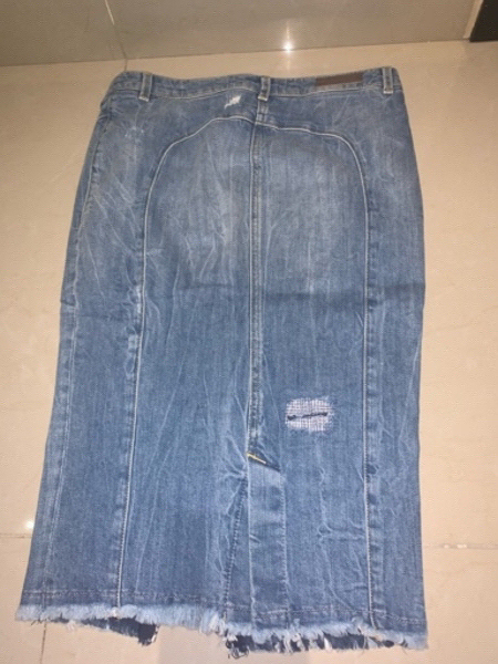 Used Guess jeans skirt in Dubai, UAE