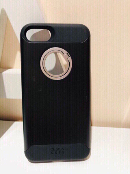 Used iPhone 7 cover with stand ring in Dubai, UAE