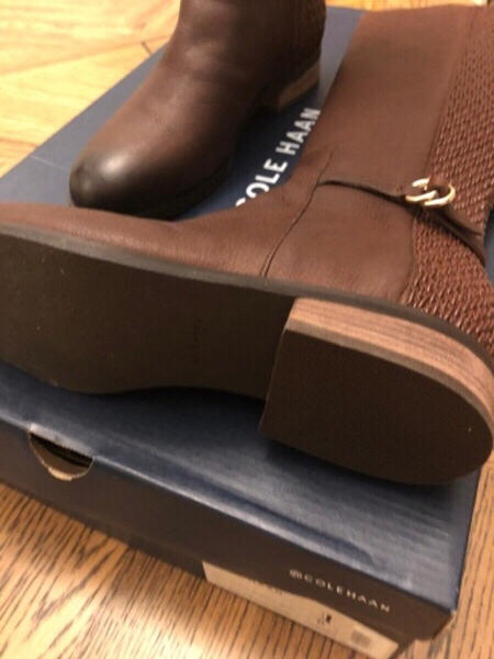 Used Cole Haan pure leather boots 37 in Dubai, UAE