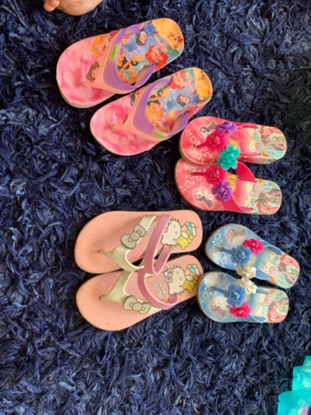 Used Slippers for 3-4 years old in Dubai, UAE