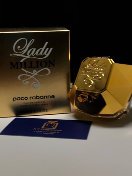 Used Lady million womens perfume 90ml in Dubai, UAE