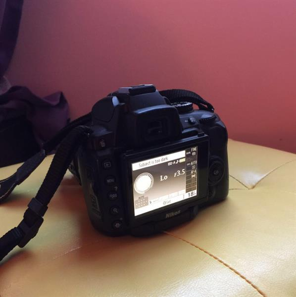 Used Hi, I'm selling #Nikon D5000 DSLR Camera with charger & bag in good condition, rarely used and is lady owned. in Dubai, UAE