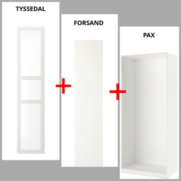 Used IKEA BUNDLE OFFER (PAX/FORSAND/TYSSEDAL) in Dubai, UAE