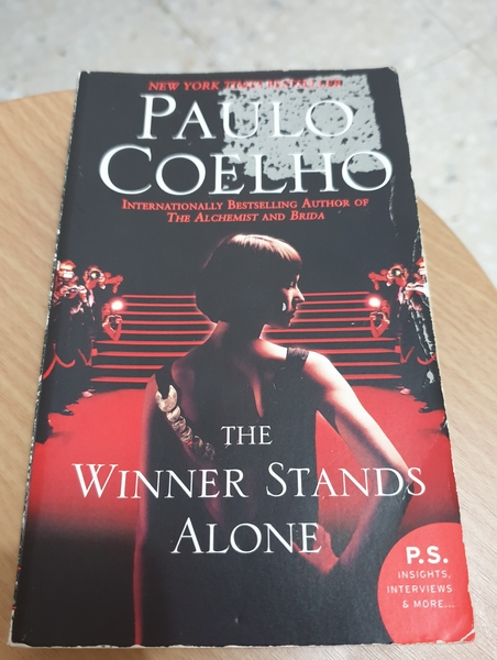 "Used Paulo Coelho""The Winner Stands Alone"" in Dubai, UAE"