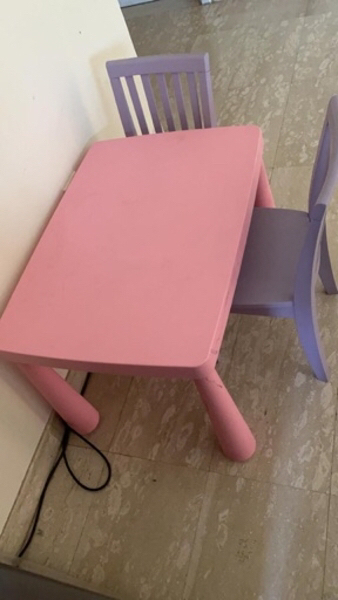Used Table and four chairs in Dubai, UAE