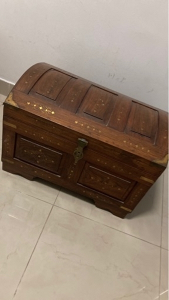 Used Antique wooden box (hand made) in Dubai, UAE