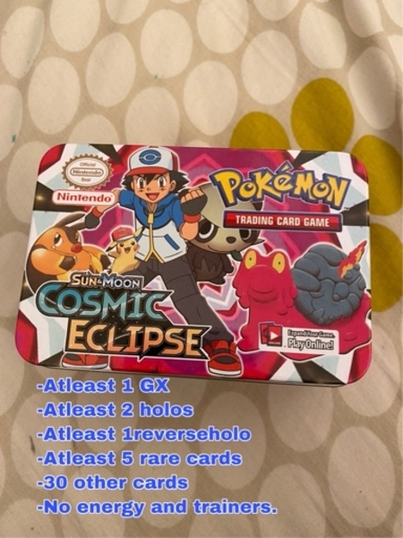Used Pokémon mystery box in Dubai, UAE