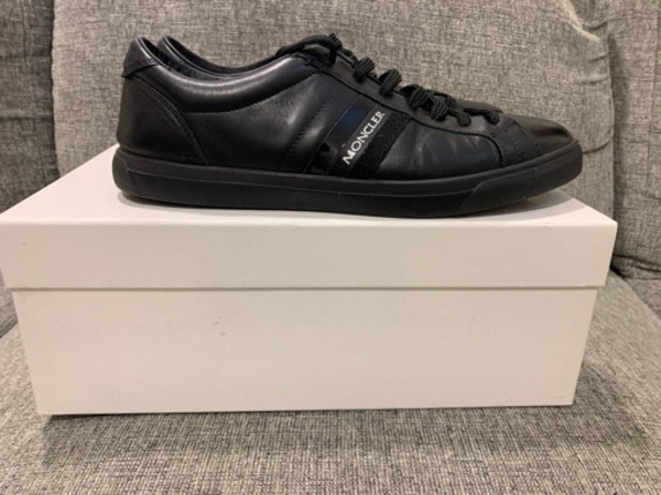 Used Authentic Preloved Moncler sneakers s43 in Dubai, UAE