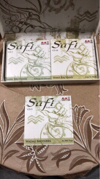 Used The Ultimate Sufi Collection. 10 CDS. in Dubai, UAE