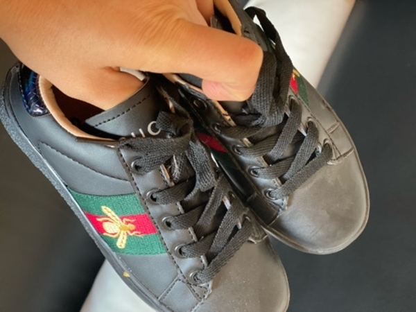 Used Gucci boys shoes brand new in Dubai, UAE