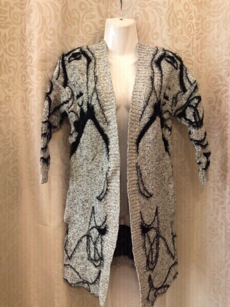 Used Knitted Jacket size F fits M/L in Dubai, UAE