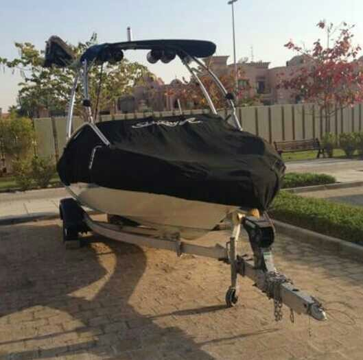 Used SEARAY 185 ready for the water! With tower, speakers and swim plat!! in Dubai, UAE