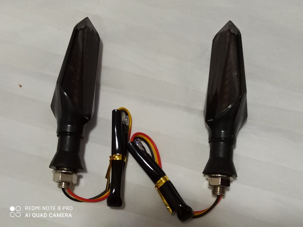 Used A Pair of LED Motorcycle Turn Signal in Dubai, UAE