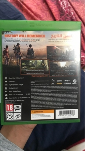 Used Division 2 Xbox One in Dubai, UAE