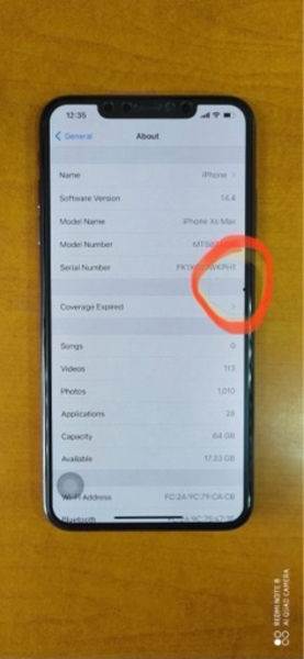 Used iPhone XS Max 64GB Bh 88% a dot mention in Dubai, UAE