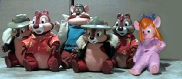 Used Disney rescue rangers plush rare !! in Dubai, UAE
