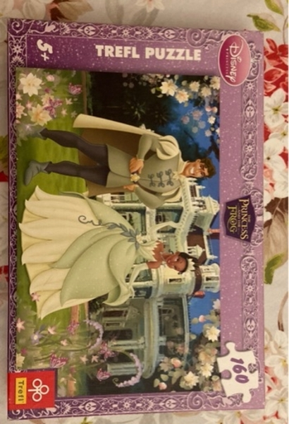 Used Tiana and Prince Naveen Disney puzzle in Dubai, UAE