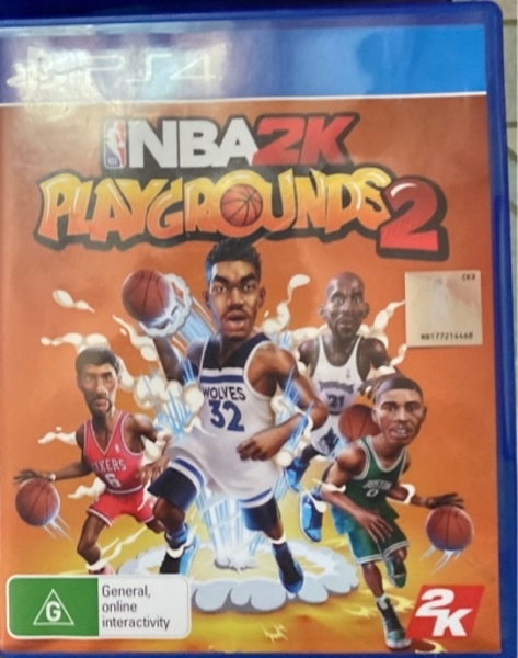 Used NBA play ground ps4 70 without delivery in Dubai, UAE