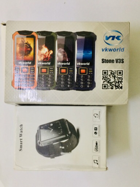 Used Mobile phone + smart watch in Dubai, UAE